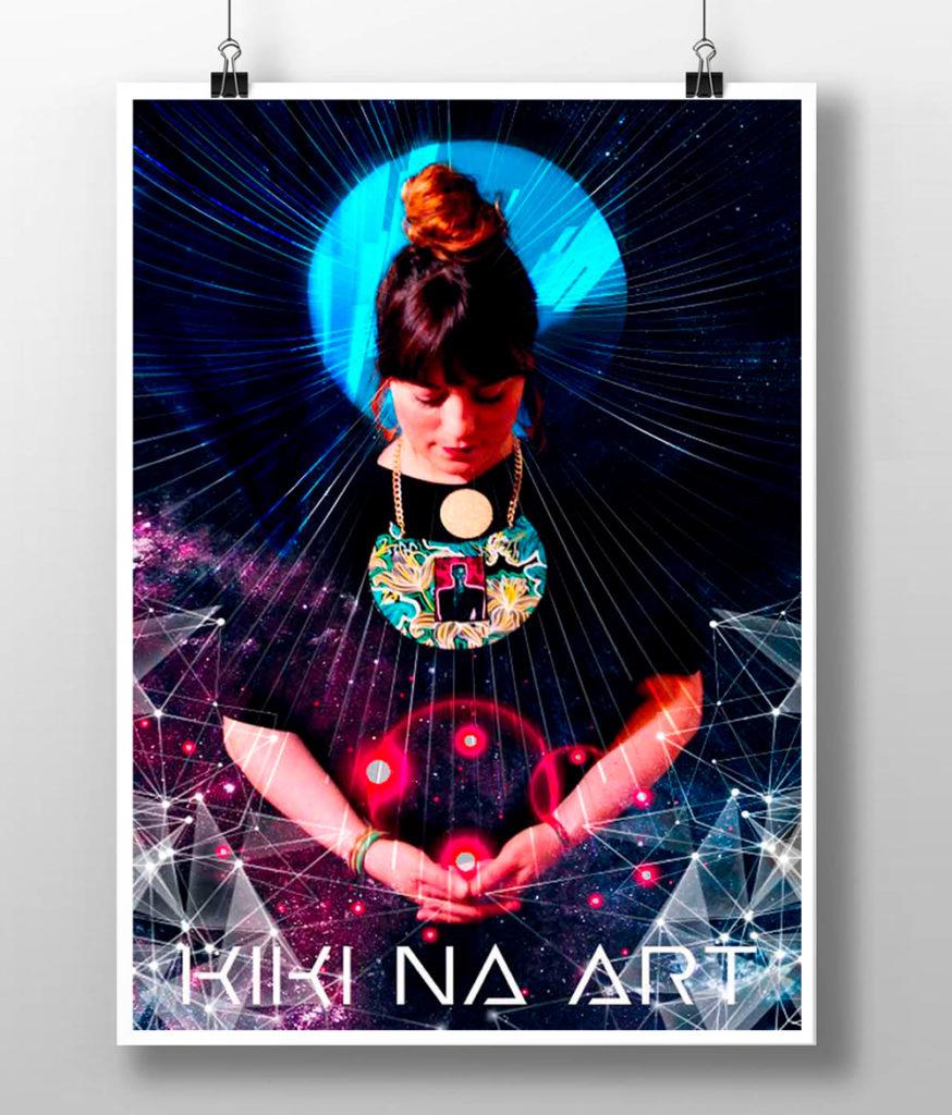 kikinaart poster design